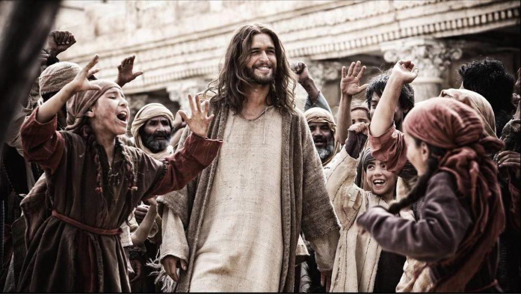 Klip fra bibelfilm